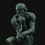 Il Pensatore di Rodin