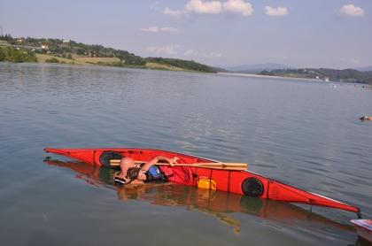 Lezioni di kayak da mare